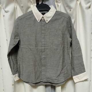 grisflanelle シャツ 10歳