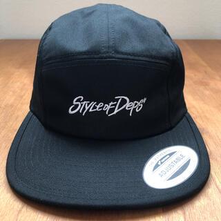 DEPS キャップ ブラック 帽子(ウエア)