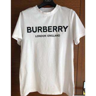バーバリー(BURBERRY)の美品! Burberry バーバリー Tシャツ ホワイト 12Y(Tシャツ(半袖/袖なし))