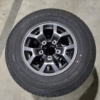 BRIDGESTONE - ジムニーシエラ jb74 純正タイヤ、ホイール4本セット