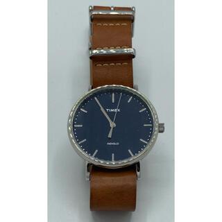 タイメックス(TIMEX)の○時計 タイメックス メンズ Timex Silver/Blue(腕時計(アナログ))