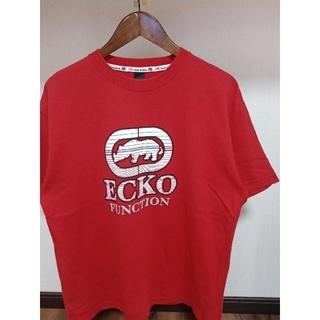 エコーアンリミテッド(ECKŌ UNLTD(ECKO UNLTD))の唯一出品 超美品 ECKO エコーアンリミテッド ビックロゴ ド派手 Tシャツ (Tシャツ/カットソー(半袖/袖なし))