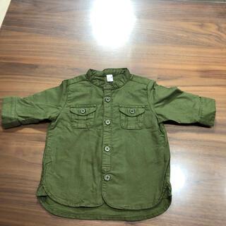 エフオーキッズ(F.O.KIDS)の美品 アプレクール 5部袖シャツ 80サイズ(シャツ/カットソー)
