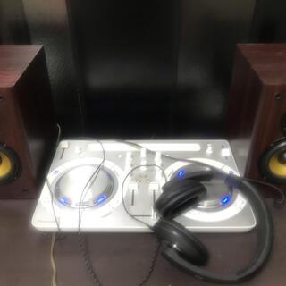 パイオニア(Pioneer)の美品pioneer DDJ-Wego3-w DJセット スピーカー ヘッドホン(DJコントローラー)