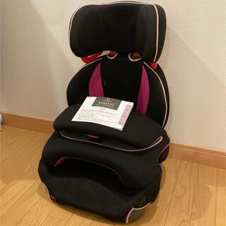 エールベベ サラット 3ステップ クワトロ ローズ ピンク 限定色(自動車用チャイルドシート本体)