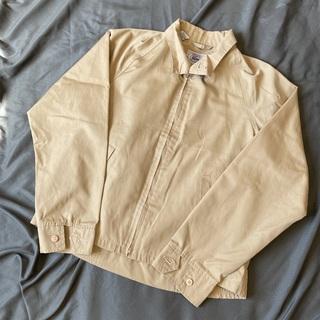 ラコステ(LACOSTE)の70〜80's IZODラコステ スイングトップ ベージュ 青タグ 青ワニ(ブルゾン)