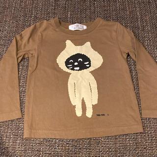 ネネット(Ne-net)のネネット にゃー キッズ長袖Tシャツ 100(Tシャツ/カットソー)