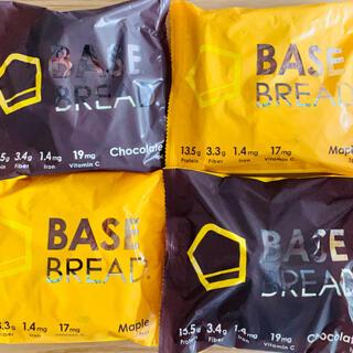 BASE BREAD ベースブレッド 4個!チョコ&メープル!(プロテイン)