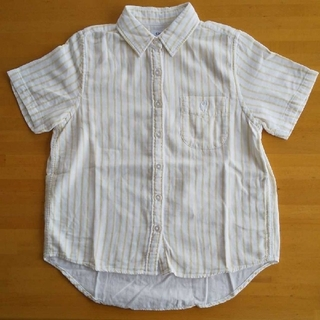 コーエン(coen)のcoen 半袖ストライプシャツ(シャツ/ブラウス(半袖/袖なし))