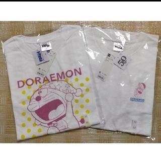ジーユー(GU)のドラえもん50周年Tシャツ GU Mサイズ2枚セット(キャラクターグッズ)