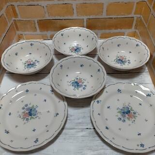ニッコー(NIKKO)のNIKKO Provincial Designs 中皿2枚 ボウル4個(食器)