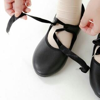 ネストローブ(nest Robe)のcrown ribbon shoes(バレエシューズ)