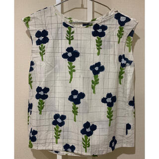 ミナペルホネン(mina perhonen)のミナペルホネン  flower dance フラワーダンス(Tシャツ(半袖/袖なし))