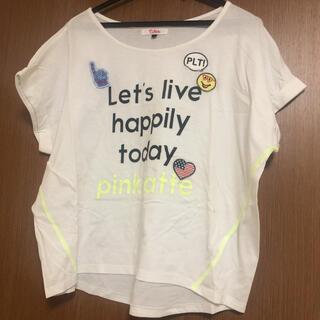 ピンクラテ(PINK-latte)のTシャツ ピンクラテ 165(Tシャツ(半袖/袖なし))