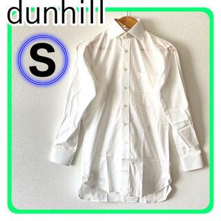 ダンヒル(Dunhill)の【新品】dunhill ダンヒル ワイシャツ 白 ホワイト ストライプ S(シャツ)
