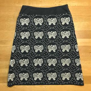 ミナペルホネン(mina perhonen)の台形スカート(ひざ丈スカート)