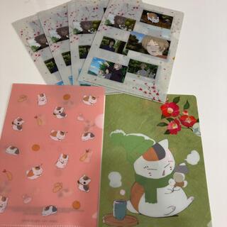 夏目友人帳 A5クリアファイル 3種×6枚(クリアファイル)