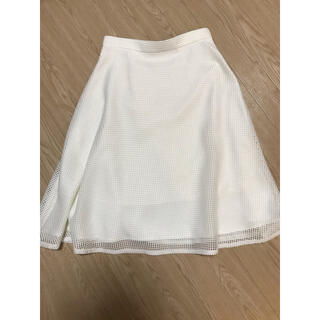 ラウンジドレス(Loungedress)のラウンジドレス  白スカート(ひざ丈スカート)