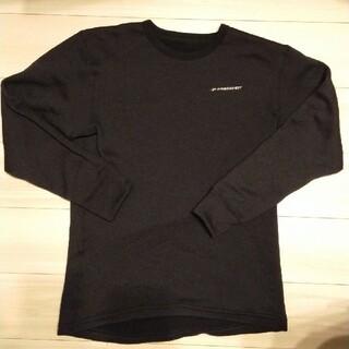 ハヤブサ フリーノット レイヤーテックアンダーシャツ シープバック超厚手 M(ウエア)