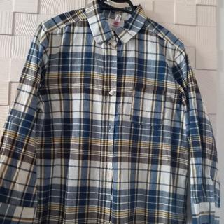 エージープラス(a.g.plus)のa.g.plus  チェックシャツ(M)(シャツ/ブラウス(長袖/七分))
