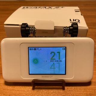 HUAWEI - Speed Wi-Fi NEXT W06 ホワイトxシルバー