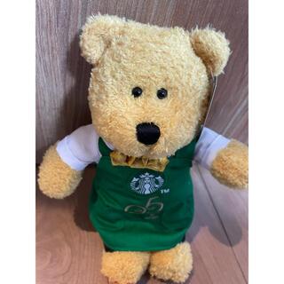 スターバックスコーヒー(Starbucks Coffee)の新品 スタバ ベアリスタ 25周年 ぬいぐるみ くま(ぬいぐるみ)