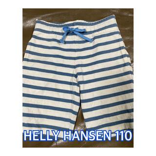 HELLY HANSEN - HELLY HANSEN ボーダー ハーフパンツ 110