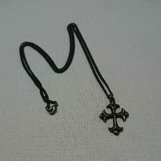 マウジー(moussy)のmoussy マウジー クロス ネックレス(ネックレス)