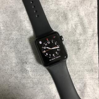 アップル(Apple)のApple Watch シリーズ3 バンド、充電コード付き(腕時計)