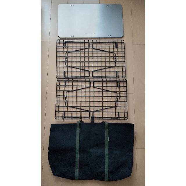 UNIFLAME(ユニフレーム)のユニフレームフィールドラック  ステンレス天板Ⅱ フィールドラックトート スポーツ/アウトドアのアウトドア(テーブル/チェア)の商品写真
