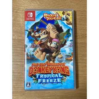 ニンテンドウ(任天堂)のドンキーコング トロピカルフリーズ Switch(家庭用ゲームソフト)