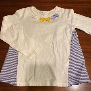 ウィルメリー(WILL MERY)のウィルメリー トップス ロンT 120 110 異素材(Tシャツ/カットソー)