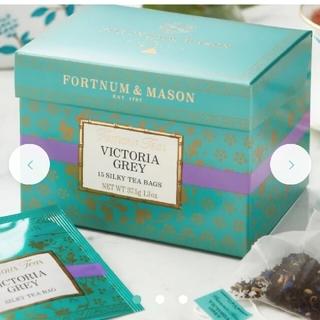 FORTNUM&MASON ヴィクトリアグレイ(茶)