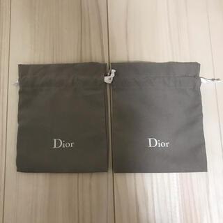 Christian Dior - Dior ディオール 巾着2枚