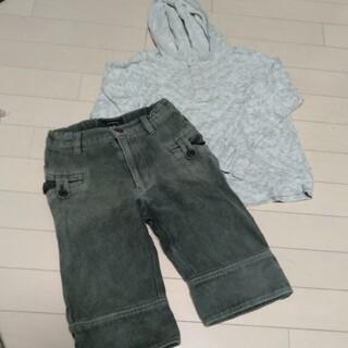 エーキャンビー(A CAN B)のA CAN B パーカーとgrisflanelle パンツ  10歳(Tシャツ/カットソー)