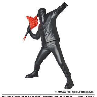 メディコムトイ(MEDICOM TOY)のFLOWER BOMBER(RED FLOWER w/BLACK Ver.)(その他)
