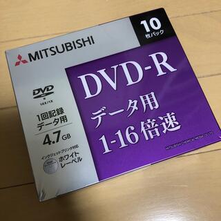ミツビシ(三菱)のMITSUBISHI DVD-Rデータ用 1-16倍速 10枚パック(その他)