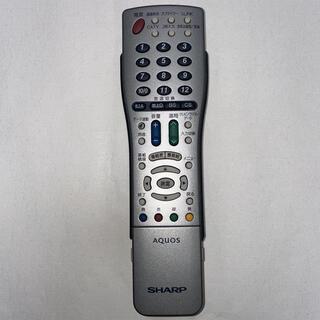 アクオス(AQUOS)の◇ SHARP AQUOS GA410WJSA テレビリモコン ☆送料無料(その他)
