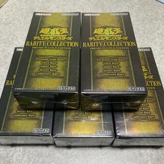 ユウギオウ(遊戯王)の遊戯王 レアリティコレクション3 5BOX シュリンク付き(Box/デッキ/パック)