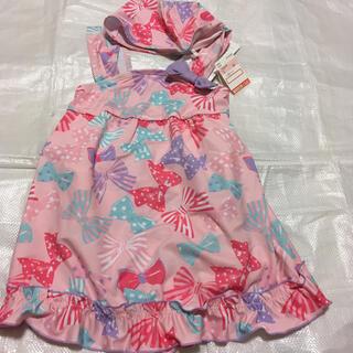 シマムラ(しまむら)の130 新品未使用 女児水着(水着)