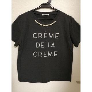 ルクールブラン(le.coeur blanc)のデザインTシャツ(Tシャツ(半袖/袖なし))