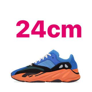 """アディダス(adidas)のADIDAS YEEZY BOOST 700 """"BRIGHT BLUE""""24cm(スニーカー)"""