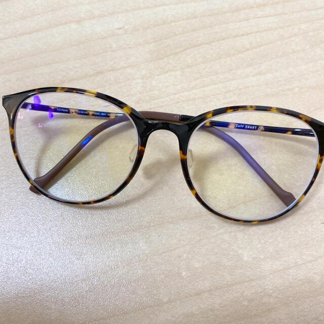 Zoff(ゾフ)のZoff メガネ UVカット 度入り メンズのファッション小物(サングラス/メガネ)の商品写真