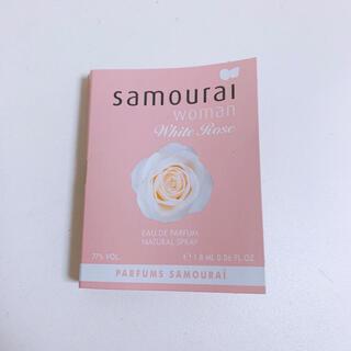 サムライ(SAMOURAI)のサムライウーマン ホワイトローズ EDP 1.8ml(香水(女性用))