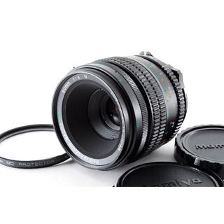 マミヤ(USTMamiya)の【美品】マミヤ MAMIYA SEKOR MACRO C 80mm F4 N(フィルムカメラ)