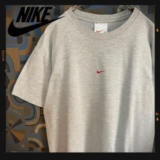 ナイキ(NIKE)のナイキ 90s 半袖Tシャツ センターロゴ グレー air プリントT(Tシャツ/カットソー(半袖/袖なし))