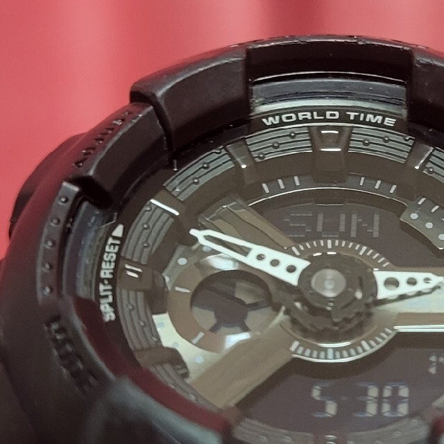 Baby-G(ベビージー)のbabyG 黒  レディースのファッション小物(腕時計)の商品写真