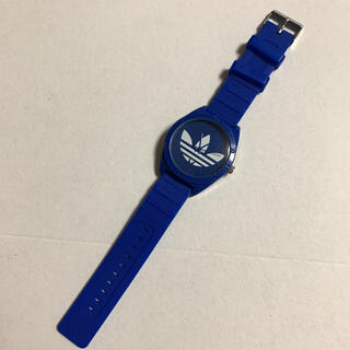アディダス(adidas)のadidas 腕時計 アディダス ブルー 青(腕時計(アナログ))