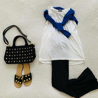 ローズバッド(ROSE BUD)のROSE BUD♡ノースリーブロングTシャツ 美品(Tシャツ(半袖/袖なし))