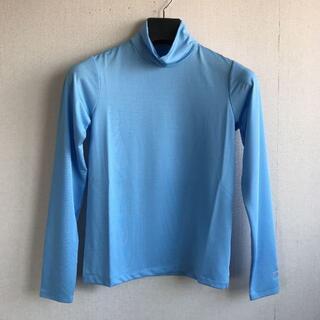 キットソン(KITSON)のキットソン モックネックシャツ サックスM 定価4730円 インナーに(ウェア)